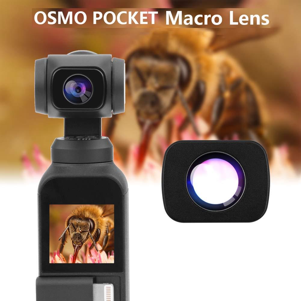 RONSHIN Kids Camera, Magnetic Macro Lens for DJI Osmo Pocket Optical Glass Camera Lens Mini Portable DJI Osmo Pocket Handheld Gimbal Accessories by RONSHIN