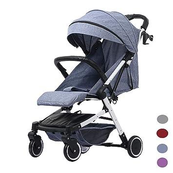 GKBMSP Cochecito de bebé Cochecito Plegable Sistema de Cochecito de Viaje Infantil Ligero para Buggy Desde el Nacimiento Adecuado para avión y ...
