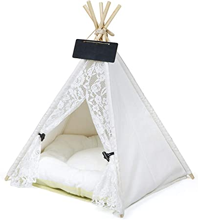 Norgail Pet Teepee Dog Rabbits Cat Bed -