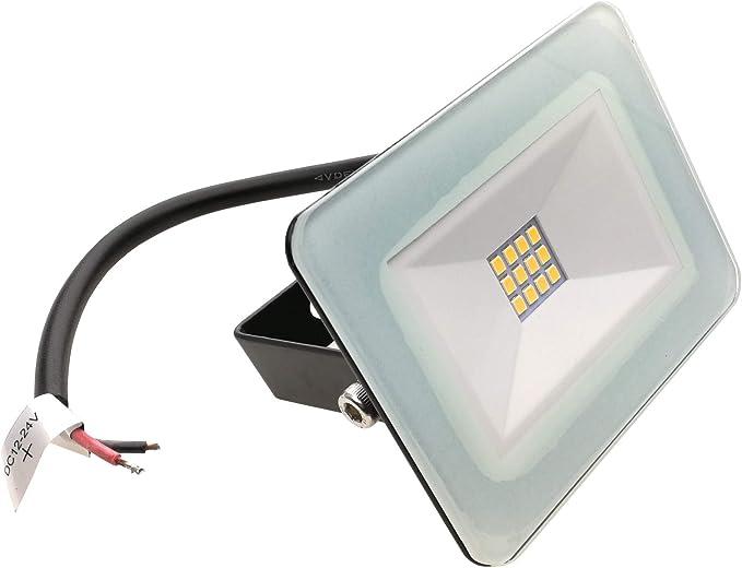 Trango 12 voltios a 24 voltios DC 10 vatios LED Proyector ...