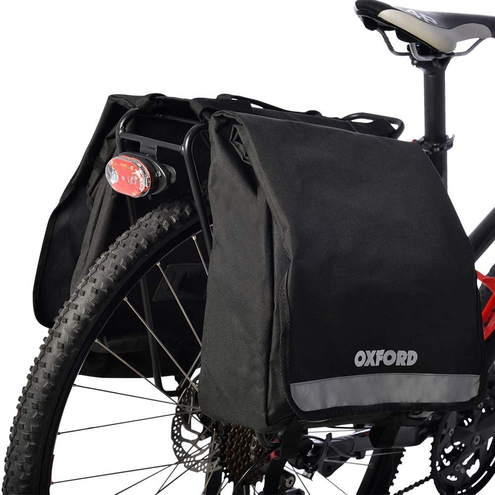 Oxford Products OL918 C20 20L Double Pannier Bicycle Bag Al sold out. Free shipping / New