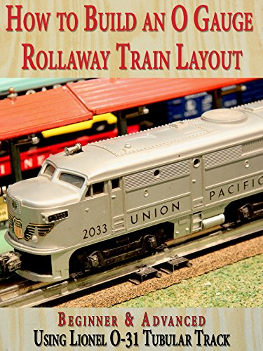 How to Build An O Gauge Rollaway Train Layout: Beginner for sale  Delivered anywhere in USA