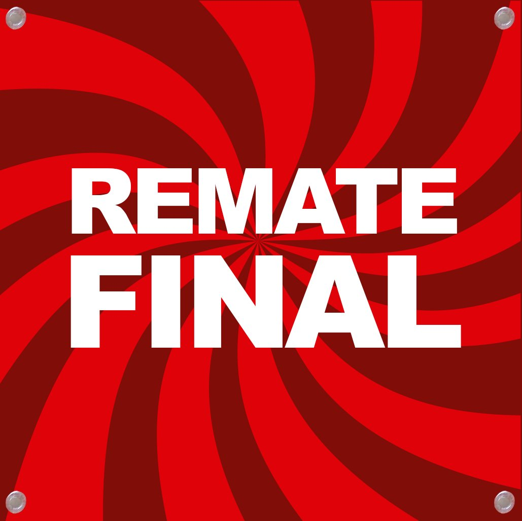 Cartel Remate Final | Cartel publicitario Remate Final ...