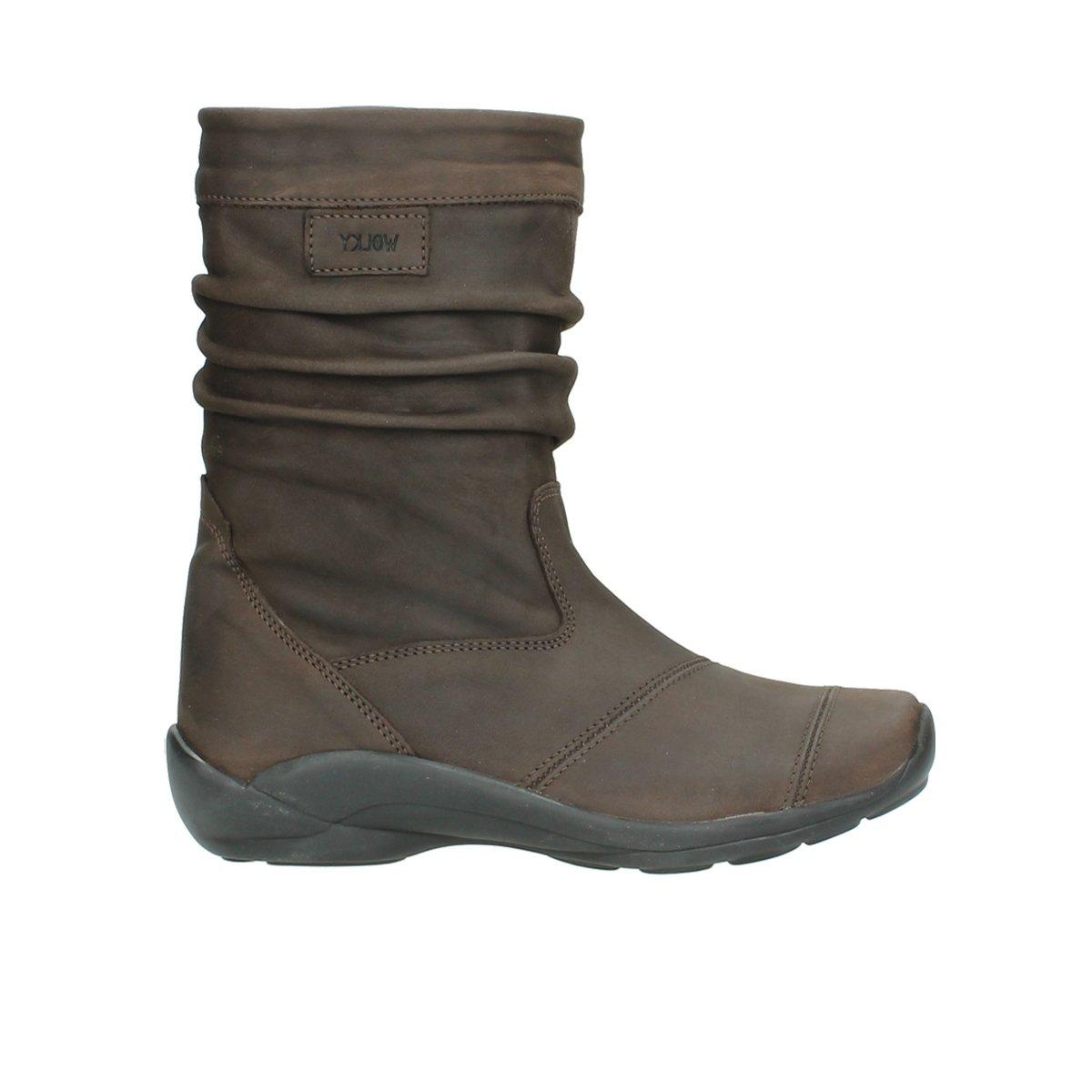 Wolky 1678 Jacky WP - Botas para mujer42 UE|Marrón - 530 braun ge枚ltes Leder / Water Proof Warmfutter
