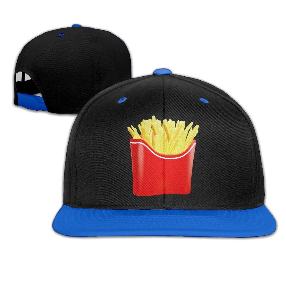 Hip Hop Caps French Fries Clip Art Cotton Hats Adjustable Unisex Baseball Cap