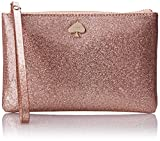 kate spade new york Glitter Bug Bee Coin Purse,Rose Gold