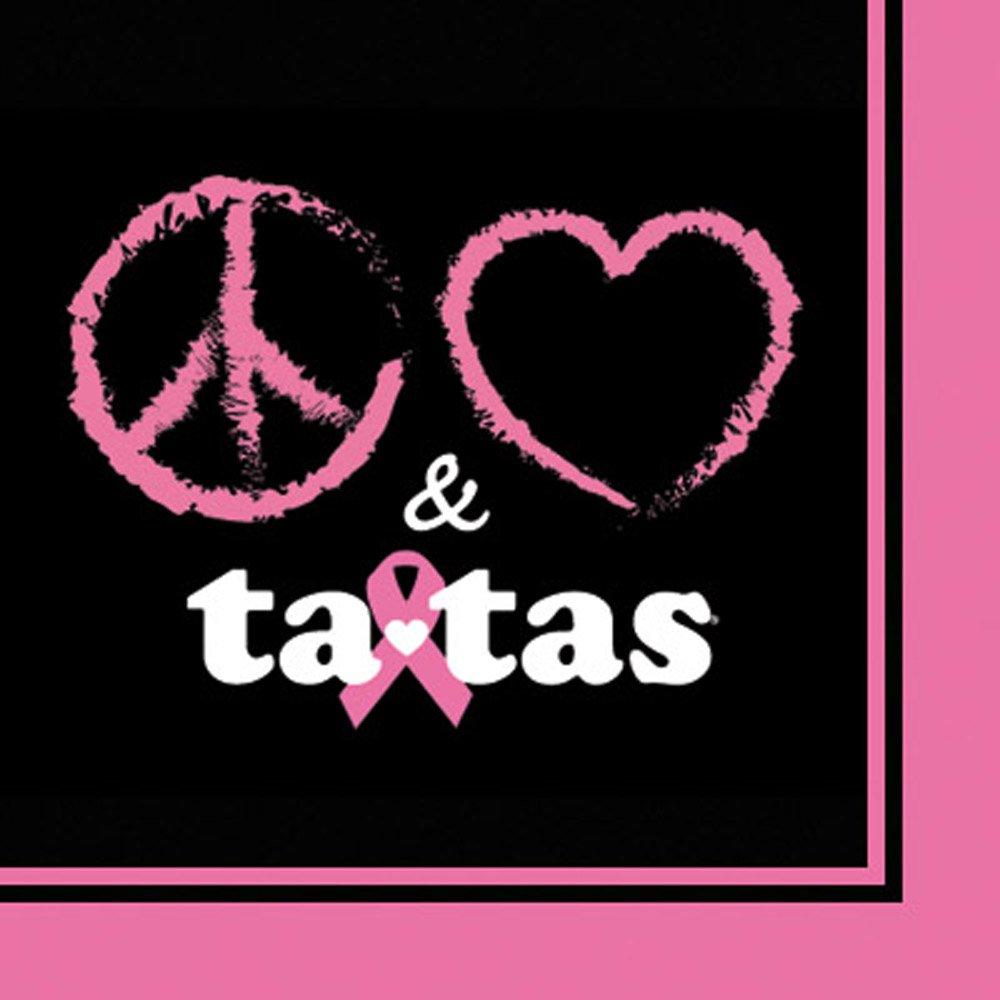 Save The Ta Tas Cocktail Napkin