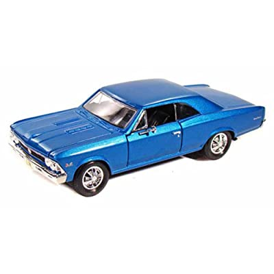 Maisto 1966 Chevy Chevelle SS396, Blue 31960 - 1/24 Scale Diecast Model Toy Car: Toys & Games