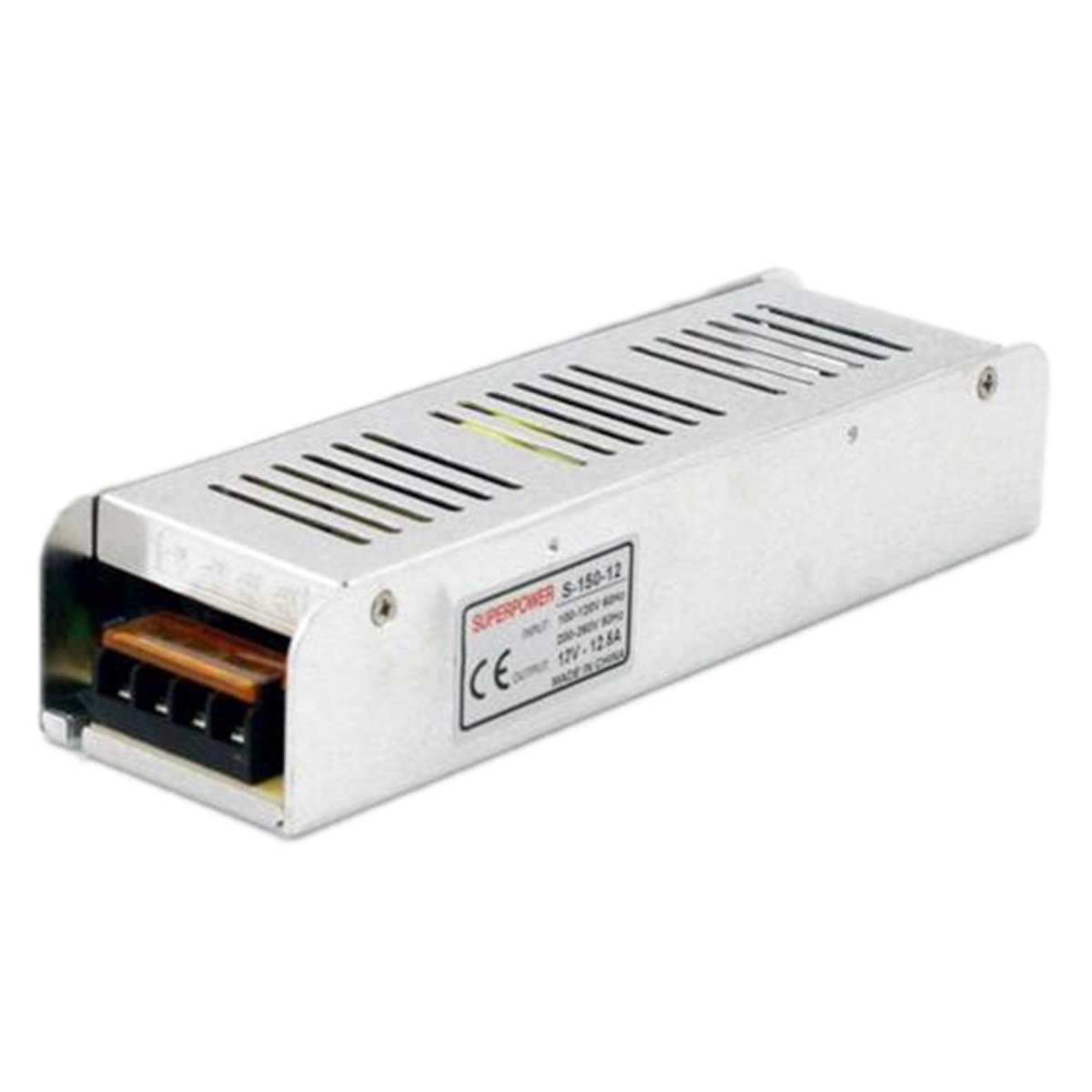 Switching Power Supply 12V 12.5A 150W Suitable for LED Strip With Short Circuit