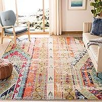 Safavieh Monaco Collection MNC222F Modern Bohemian Distressed Area Rug, 6