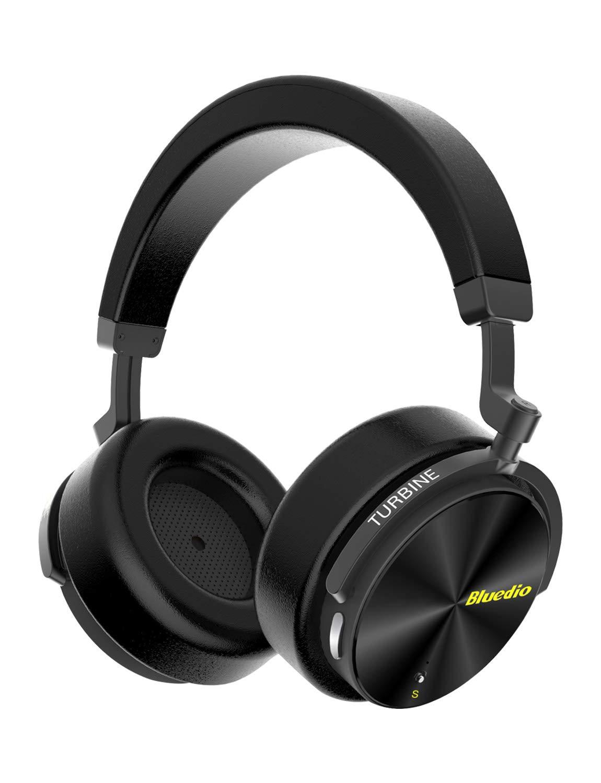 Bluedio T5S Cuffie Bluetooth Over Ear con Microfono
