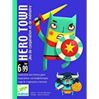 Djeco Cartas Hero Town (35143), Multicolor (1)