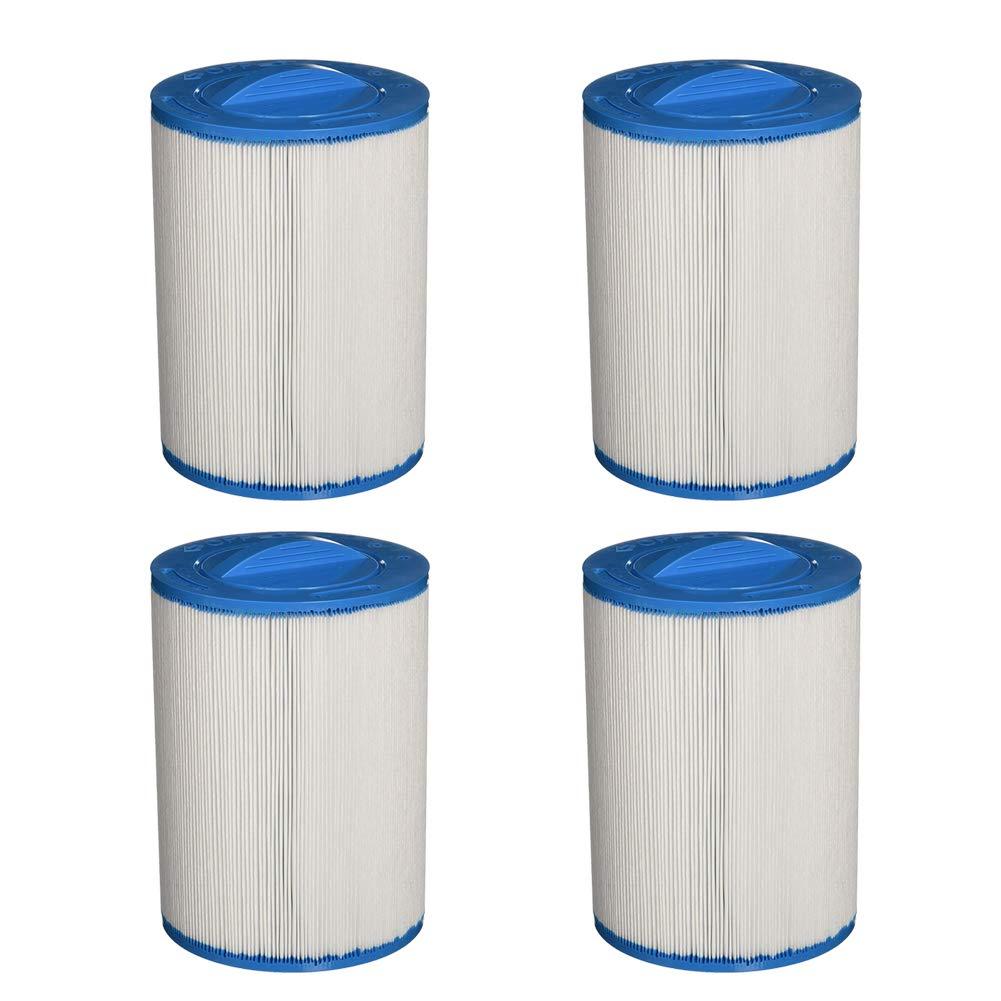 4 Packung Leisure City Pool Spa Filter mit Halbkreisf/örmiger Griff und Spritzguss-Gewinde Perfekt f/ür hei/ße Quellen