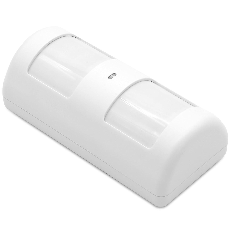 CHUANGO PIR-910 Sensor/Detector de Movimiento (PIR) inmune a Mascotas (hasta 25 kg), detección 110º 8ml, Blanco: Amazon.es: Bricolaje y herramientas