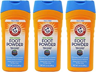product image for Arm & Hammer Foot Powder For Shoes & Feet Odor Eliminator & Foot Moisture Absorber - 3 Pack