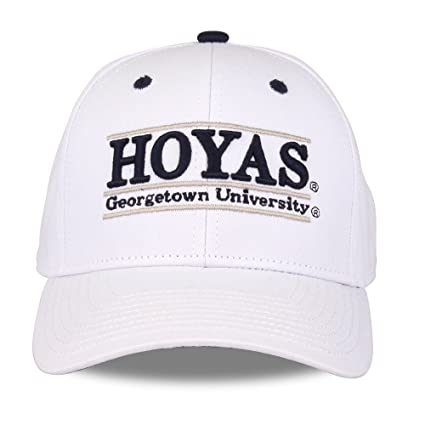 quality design 4ed3f 26897 NCAA Georgetown Hoyas Unisex NCAA The Game bar Design Hat, White, Adjustable
