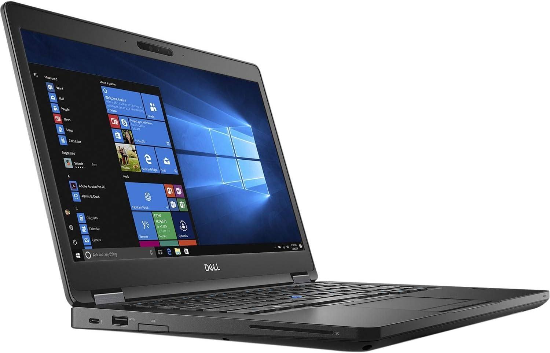 Dell Latitude 5490 Intel Core i5-8250U X4 1.6GHz 16GB RAM, 512GB SSD 14 inch LCD, Black - Windows 10 Pro (Renewed)