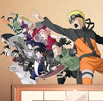 Naruto Anime Cosplay Wandsticker CIDBEST® Cartoon Wall Stickers ...