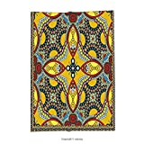 Custom printed Throw Blanket with Oriental Middle Orient Eastern Indian Islamic Different Floral Swirl Detailed Image Artwork Multicolor Super soft and Cozy Fleece Blanket