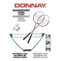 Ensemble jeu de badminton AB Donnay Sl 300X155Cm avec filet de tennis
