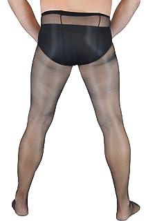 092825c6b37c1 Zeus - Sheer Men's full length Hose with trunk sheath pantyhose nylons  exotic erotic