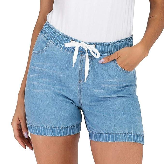Pantalon Vaquero Corto Mujer Logobeing - Mujer Pantalones ...