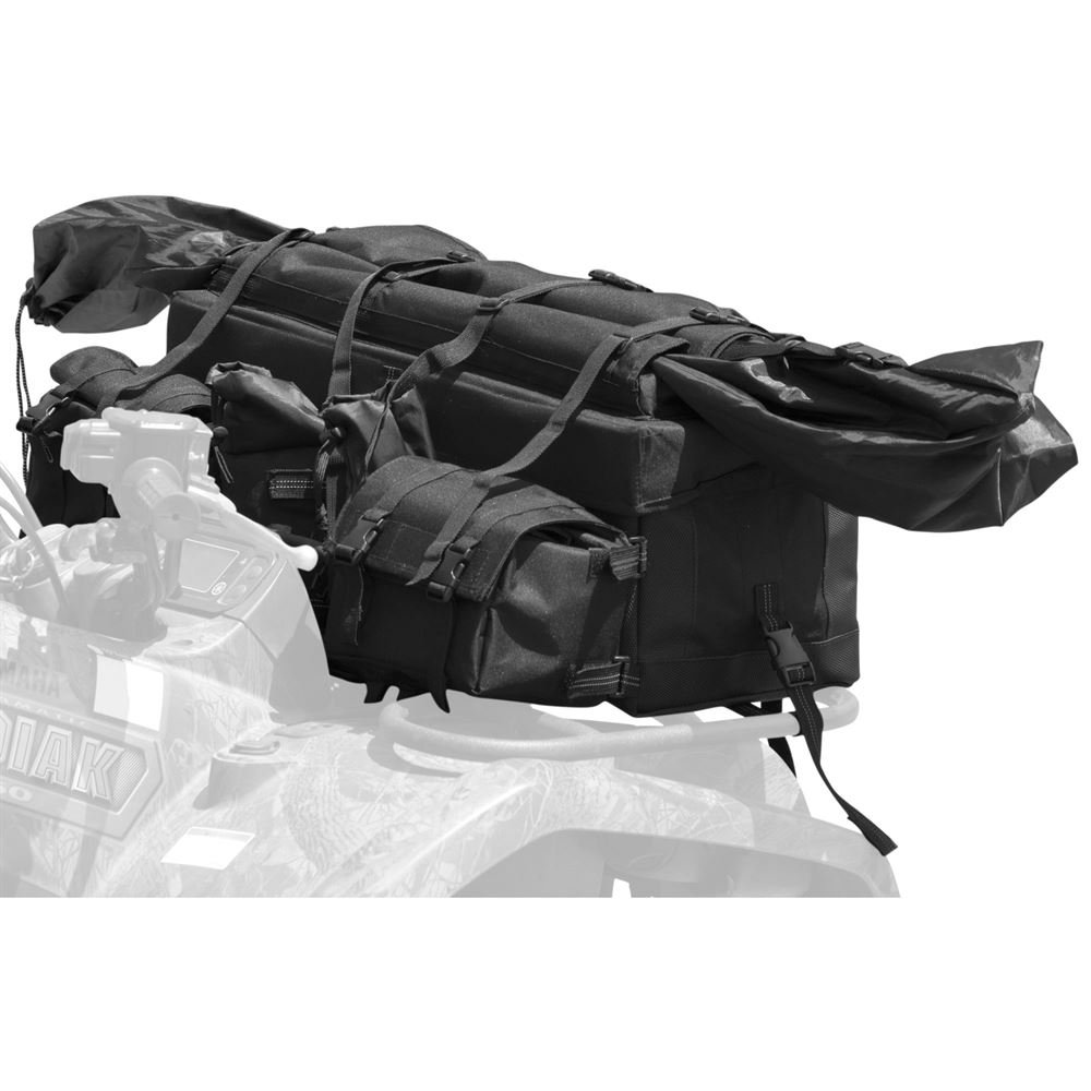 Black Widow Rage Powersports ATV-FRBG-9010 ATV Cargo Rack Gear Bag with 57'' Soft Rifle Case (Front) by Black Widow