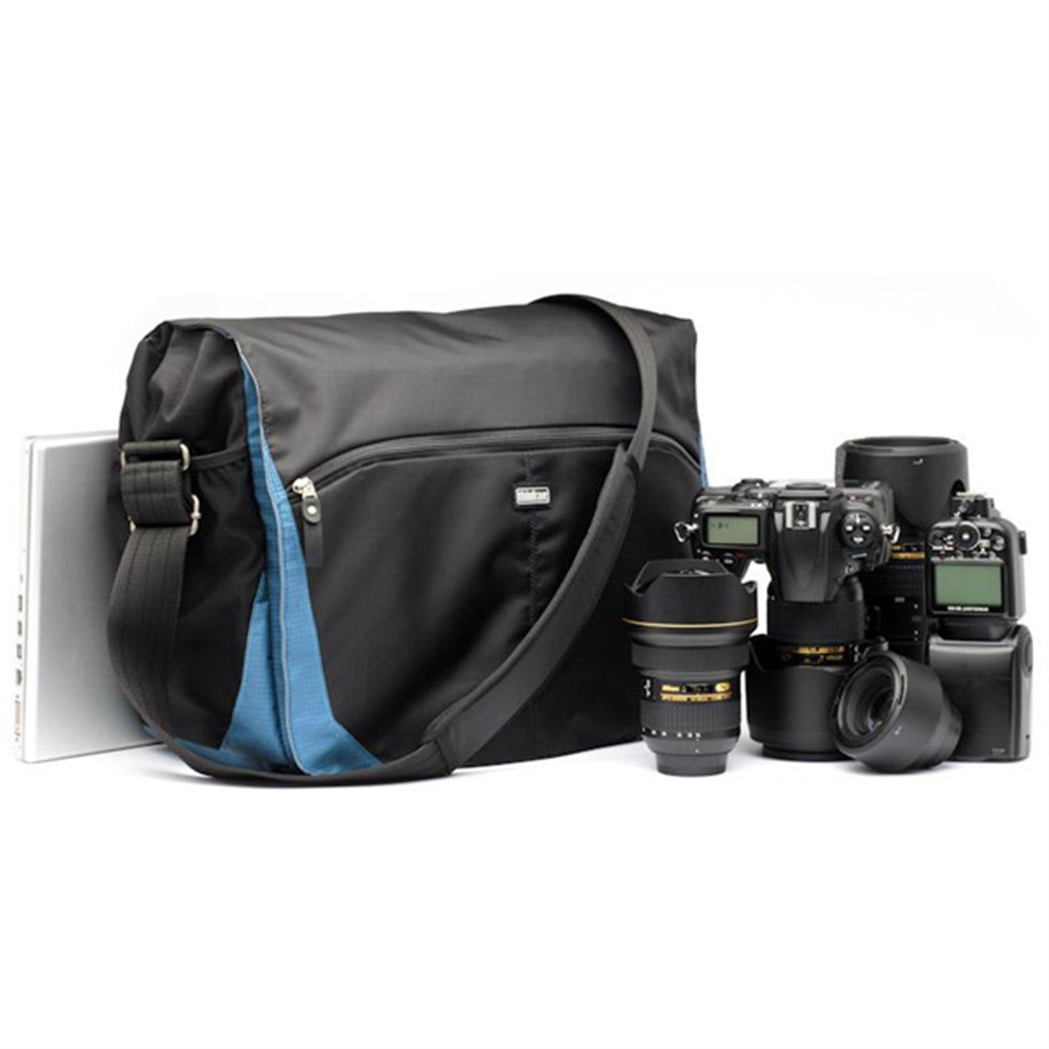 Think Tank Photo CityWalker 30 Messenger Camera Bag in Blue Slate by Think Tank Photo