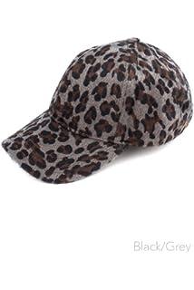 1687234a22d3f Animal Leopard Print Sequin Cap - Gold OSFM at Amazon Women s ...