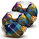 Lil Joey 2 Pack All-In-One Cloth Diaper, Preppy