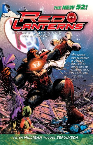 Red Lanterns Vol. 2: The Death of the Red Lanterns (The New 52) [Peter Milligan] (Tapa Blanda)