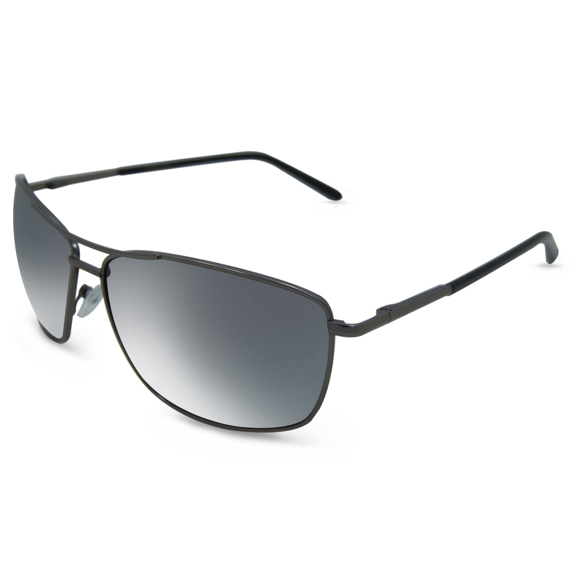 In Style Eyes Mirrored Bifocal Sunglass Readers/Pewter 2.50 by In Style Eyes