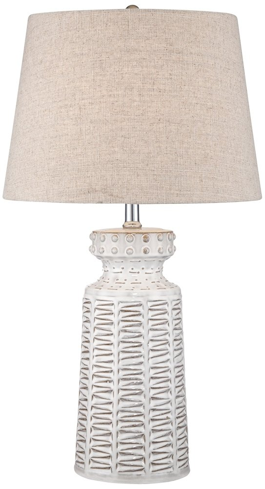 Helene White Ceramic Table Lamp - - Amazon.com