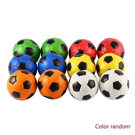 Meisijia 12ST Fútbol Stress Relief Esponja de Espuma de balón de ...