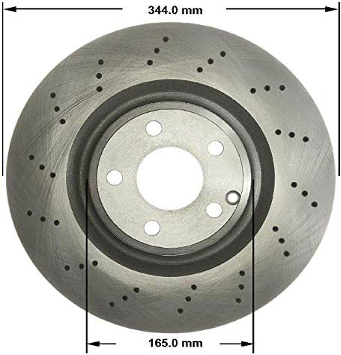 Bendix PRT6192 Brake Rotor