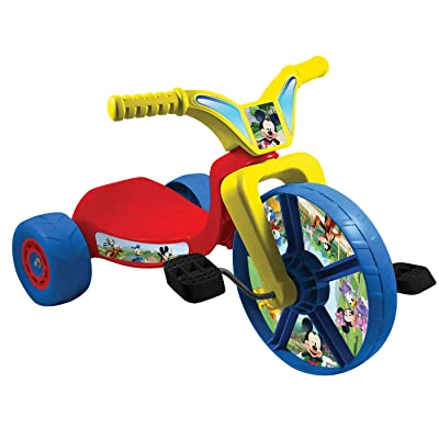 """United Pacific Designs Mickey Mouse 10"""" Fly Wheel Junior Cruiser Standard: Toys & Games"""