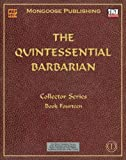 img - for The Quintessential Barbarian (Dungeons & Dragons d20 3.0 Fantasy Roleplaying) book / textbook / text book