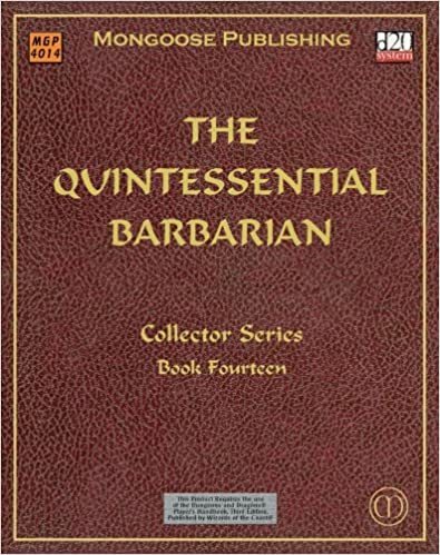 Book The Quintessential Barbarian (Dungeons & Dragons d20 3.0 Fantasy Roleplaying)