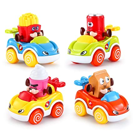 Amazon Com Vatos Car Toys For Baby 1 2 Year Old Boys Girls Cars