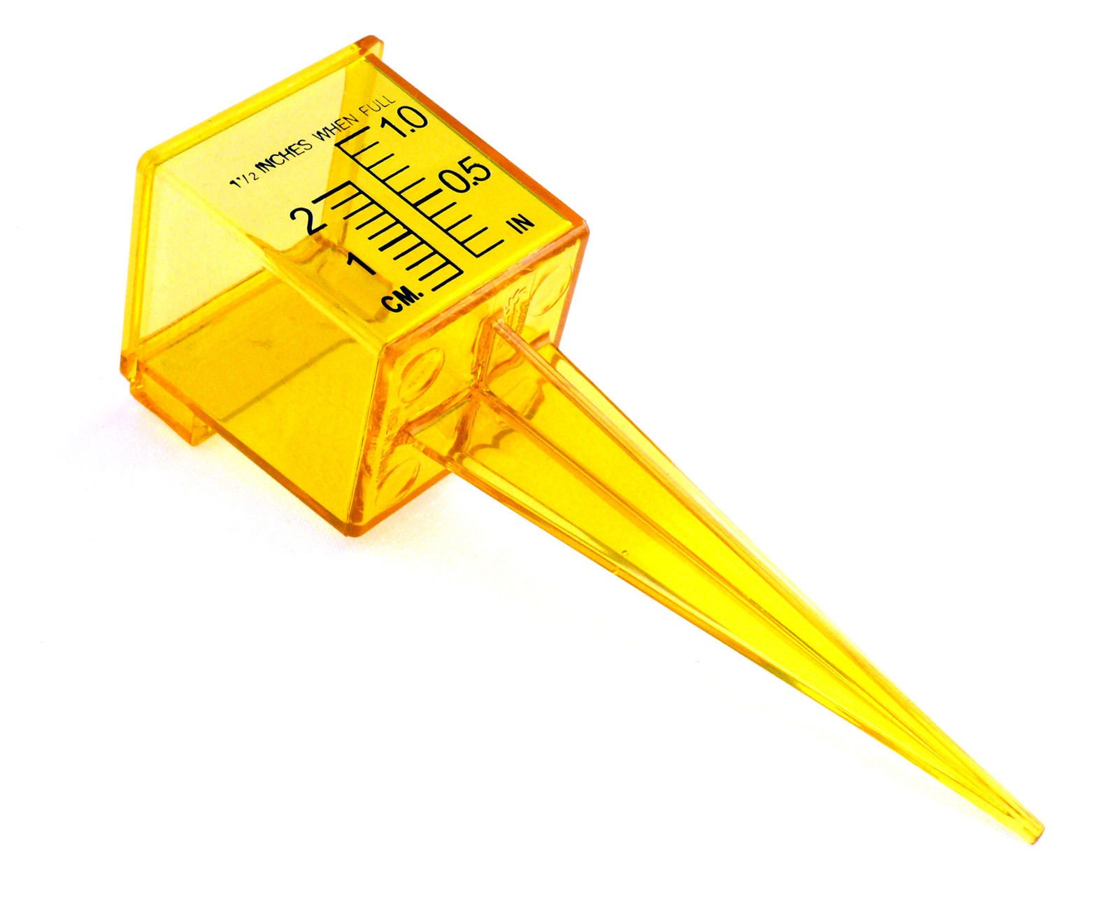 Generic O-8-O-0497-O ool outdoor asuring Lawn & Garden outdoo Rain Gauge awn & G measuring tool ight Ye 1.5'' Bright Yellow HX-US5-16Mar28-2232