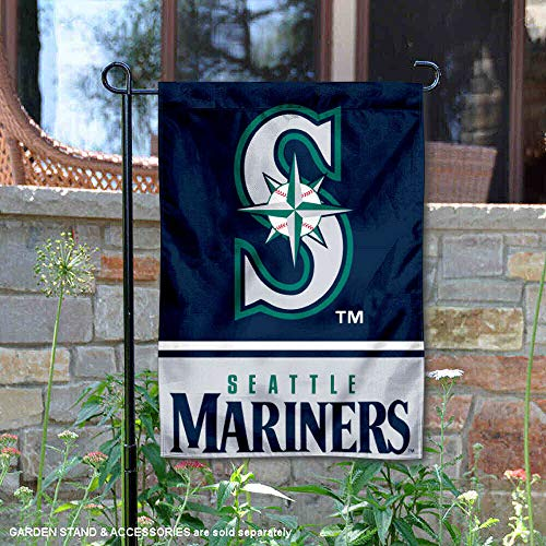 Wincraft Seattle Mariners Double Sided Garden Flag