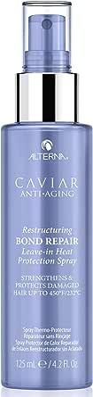 Alterna Caviar Anti-Aging Restructuring Bond Repair Leave-In Heat Protection Spray, 125 ml