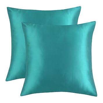Amazon.com: artcest Juego de 2, acogedor cama microfibra ...