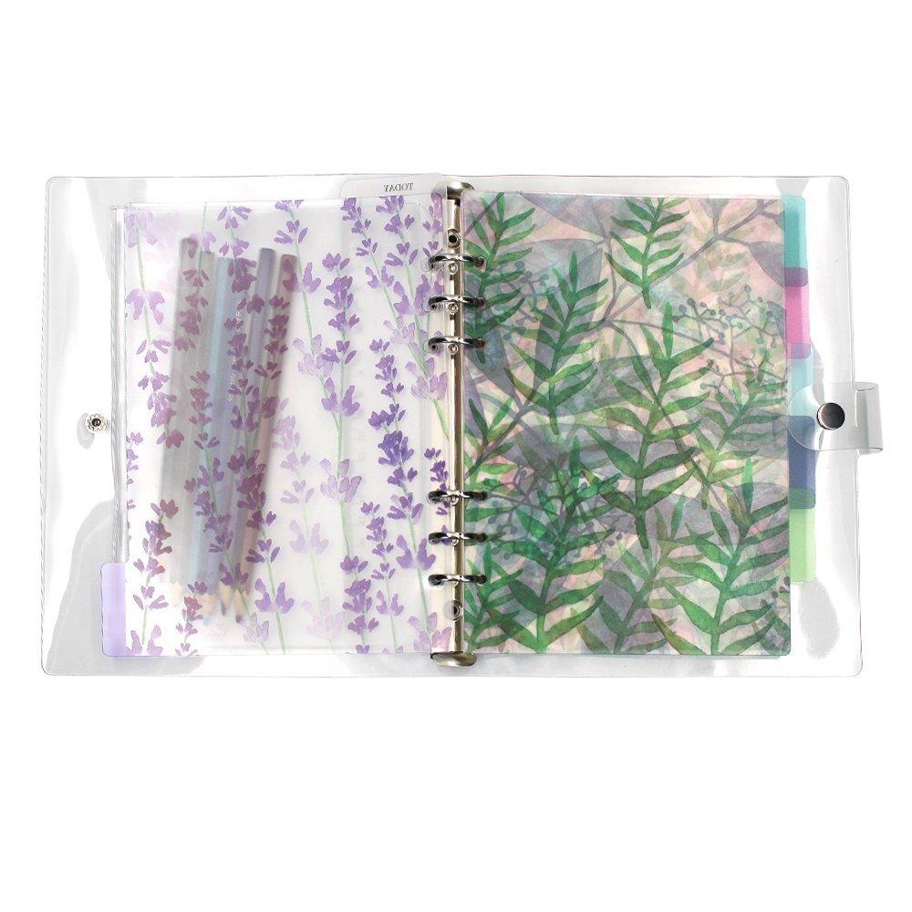 A6 6-Ring Loose Leaf Binder Journal From MoMaek, W/80