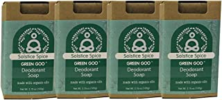 product image for Green Goo Natrual Skin Care Solstice Spice Deodorant Bar Soap, 3.75-Ounce, 4-Pack
