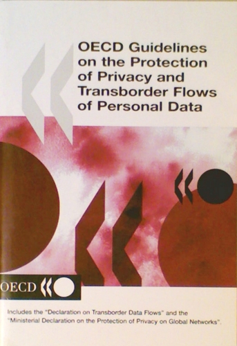 Oecd Guidelines on the Protection of Privacy and Transborder Flows of Personal Data pdf epub