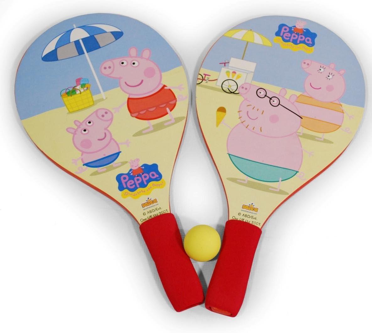 Peppa Pig - Palas de Playa (Saica Toys 9120): Amazon.es: Juguetes ...