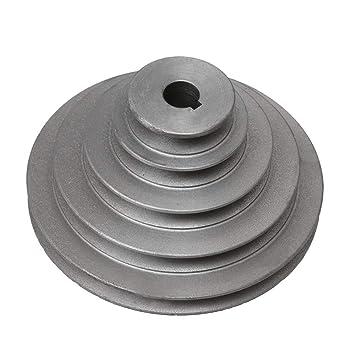 Yibuy Pagoda - Correa de polea para cinturón Tipo V 19mm Bore OD 56-165mm 5 Step: Amazon.es: Informática