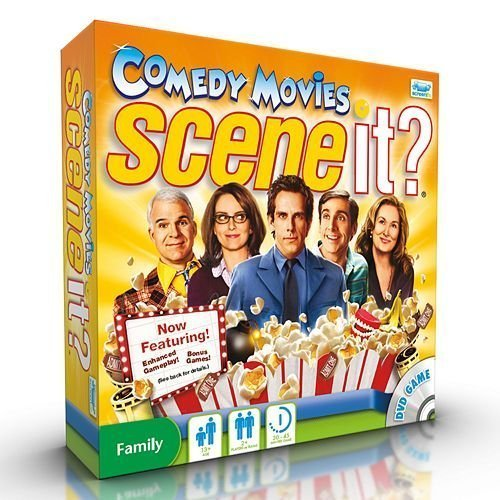 Scene It? Comedy Movies Game by Screenlife by Scene It