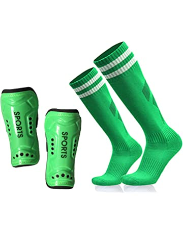 1ab82793a GeekSport Soccer Shin Guards Youth - 2 Pair 3 Sizes Shin Pads Child Calf  Protective Gear